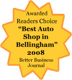 Voted Best of Bellingham!